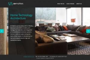 AV Matters | WordPress website design & build