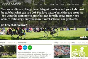 Beyond Green | WordPress website build
