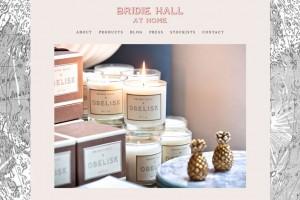 Bridie Hall at Home | WordPress website design & build