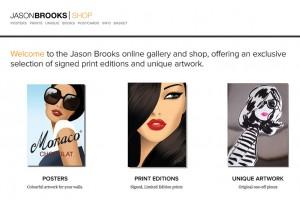 Jason Brooks Shop | Shopify website design & build