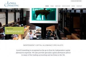 Lovell Consulting | WordPress website design & build