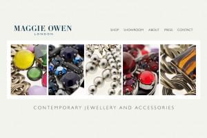 Maggie Owen London | Branding, UI design & WordPress build