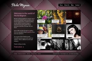 Peche Mignon | UI design